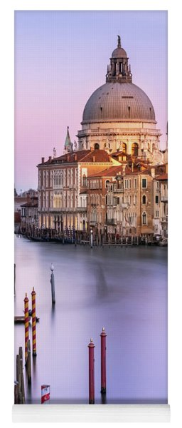 Evening Light In Venice Yoga Mat
