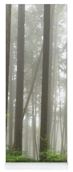 Foggy Forest Yoga Mat