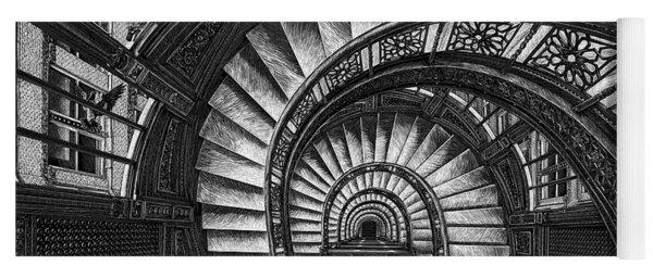 Frank Lloyd Wright - The Rookery Yoga Mat