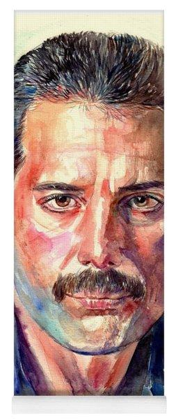 Freddie Mercury Painting Yoga Mat