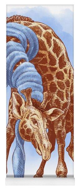 Giraffe Yoga Mat