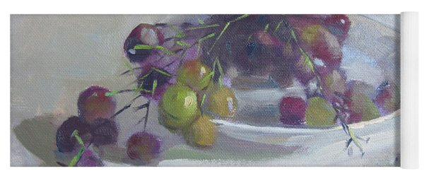 Greek Grapes Yoga Mat