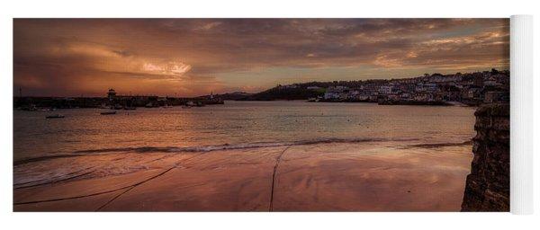 Harbour Sunset - St Ives Cornwall Yoga Mat