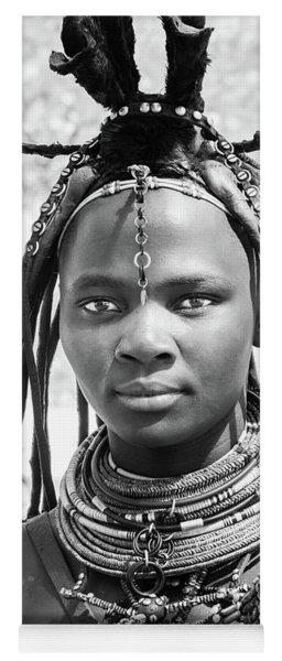 Himba Girl Yoga Mat