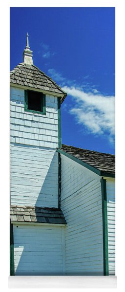 Historic Mcdougall Church, Morley, Alberta, Canada Yoga Mat