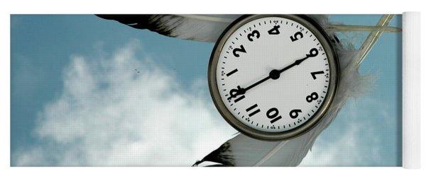 How Time Flies Yoga Mat