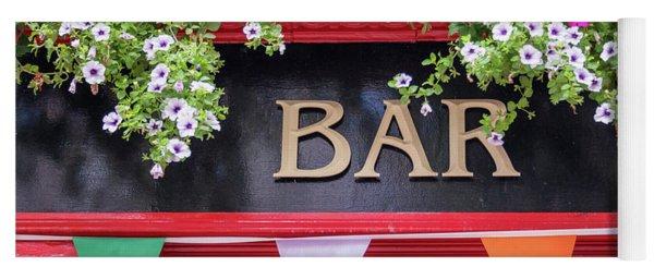 Irish Bar In Dublin Yoga Mat
