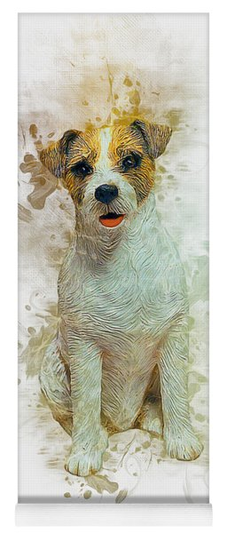 Jack Russell Yoga Mat