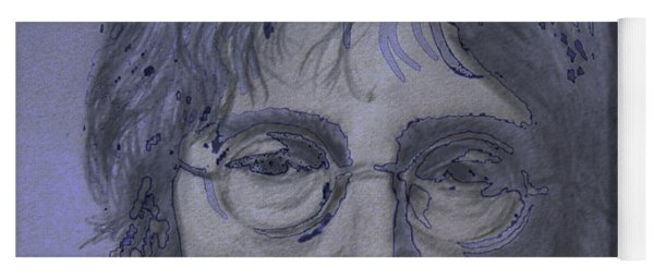 John Lennon Re-imagined Yoga Mat