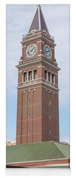 King Street Station Clock Tower Seattle Washington R1417 Yoga Mat