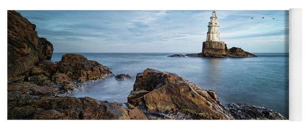 Lighthouse In Ahtopol, Bulgaria Yoga Mat