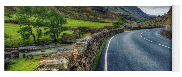Llanberis Pass  Yoga Mat