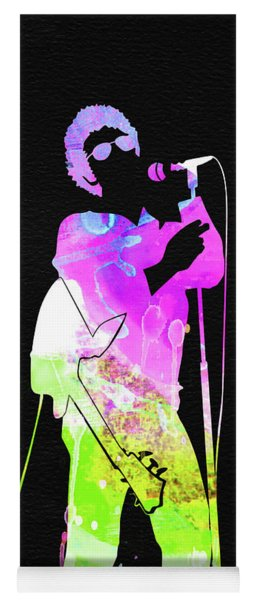 Lou Reed Watercolor Yoga Mat