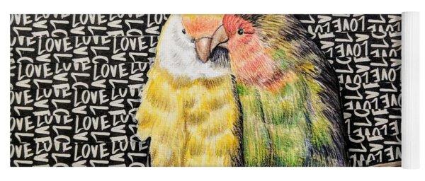 Love Birds Yoga Mat