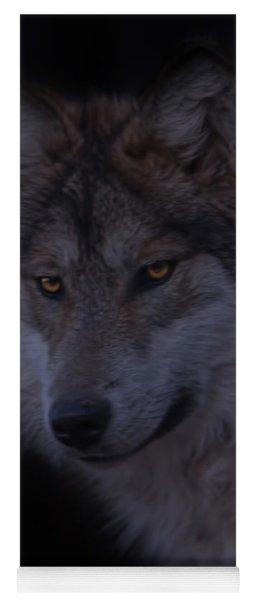 Mexican Grey Wolf  Yoga Mat
