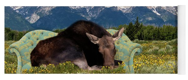 Nap Time In The Tetons Yoga Mat