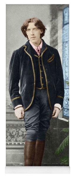 Oscar Wilde  Around 1882 By Napoleon Sarony Yoga Mat