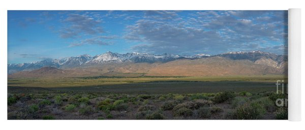 Owens Valley Panorama  Yoga Mat