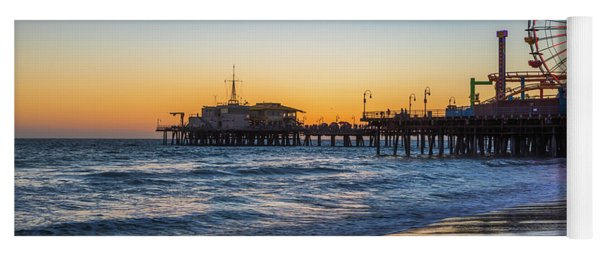 Pacific Park On The Pier Yoga Mat