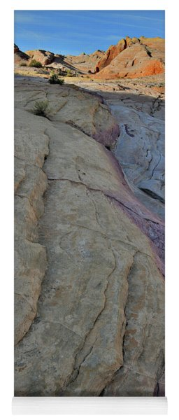 Pastel Colors In Valley Of Fire Yoga Mat