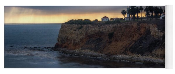 Point Vicente Lighthouse At Sunset Yoga Mat