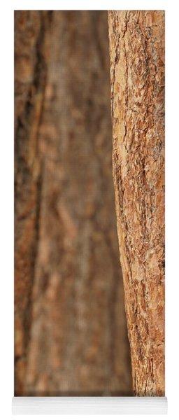 Ponderosa Pine Bark Detail Yoga Mat