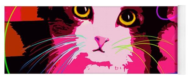 pOp Cat Callie Yoga Mat