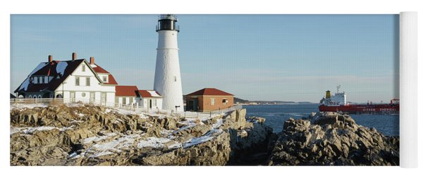 Portland Head Light - Cape Elizabeth, Maine Yoga Mat