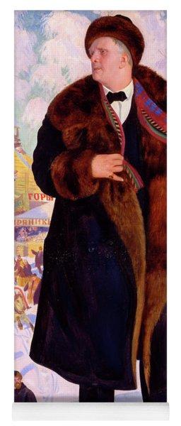 Portrait Of Fyodor Chaliapin Yoga Mat