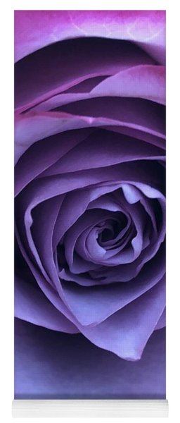 Purple Rose Yoga Mat
