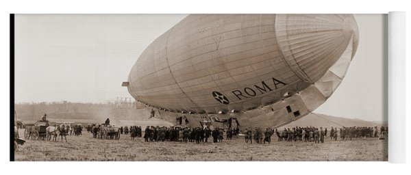 Roma Dirigible At Bolling Field Air Yoga Mat