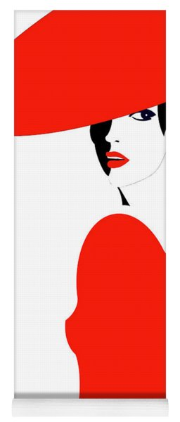 Scarlet Woman 1 Yoga Mat