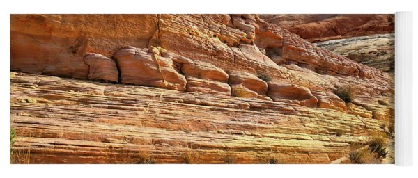 Ship Of Sandstone In Valley Of Fire Yoga Mat