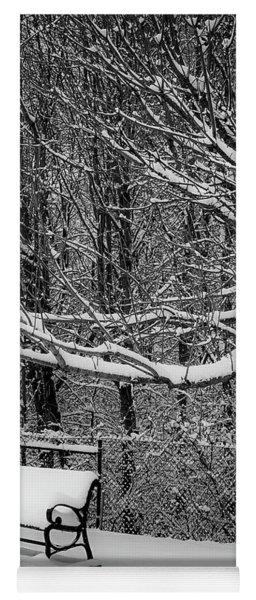 Snow Day Yoga Mat