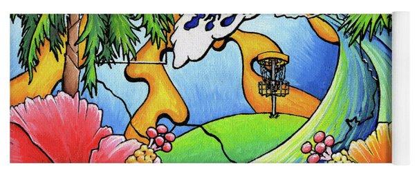South Texas Disc Golf Yoga Mat