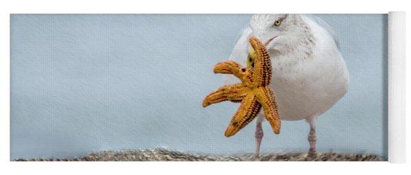 Starfish For Dinner Yoga Mat