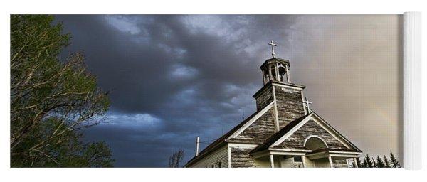 Stormy Sk Church Yoga Mat