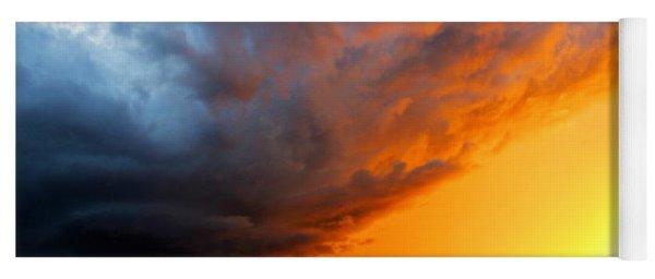 Sunset Storm Yoga Mat