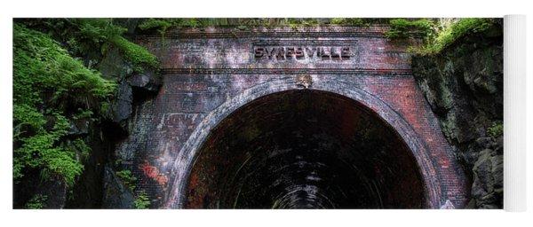 Sykesville Rail Tunnel Yoga Mat