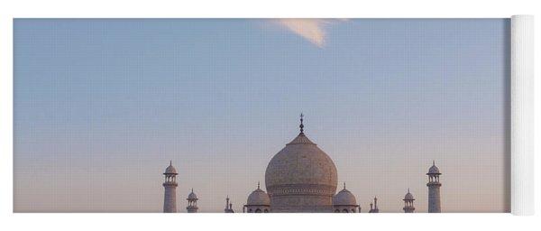 Taj Mahal At Sunset Yoga Mat