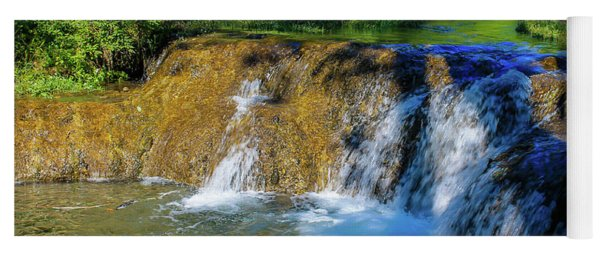 The Springs In It's Summer Green, Big Hill Springs Provincial Re Yoga Mat