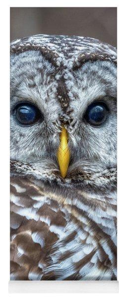 Barred Owl Yoga Mat