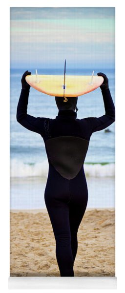 Time To Surf Yoga Mat