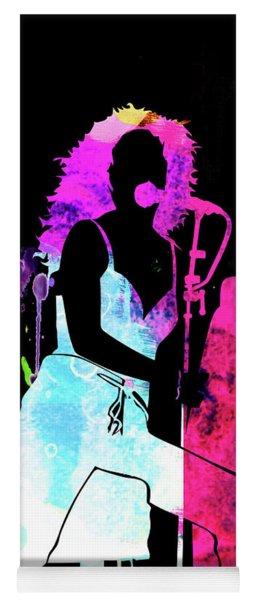 Tori Amos Watercolor Yoga Mat