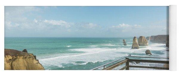 Twelve Apostles Sea Rocks Yoga Mat