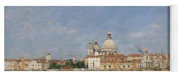 Venice, Santa Maria Della Salute From San Giorgio - Digital Remastered Edition Yoga Mat
