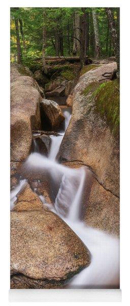 Yoga Mat featuring the photograph Waterfall At The Basin by Sharon Seaward