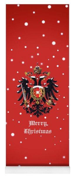 Christmas Habsburg Doppeladler Yoga Mat