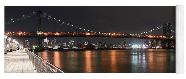 Williamsburg Bridge Yoga Mat