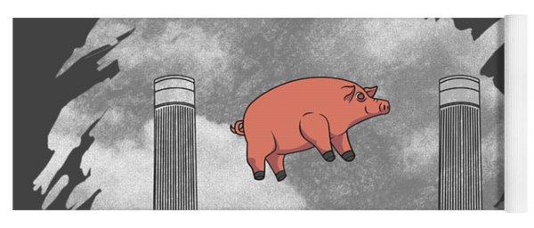 Pink Pig Yoga Mats | Fine Art America